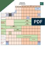 Cronograma EIDUNED 2016-2017