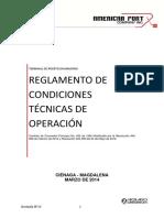 Reglamento de Condiciones Tecnicas de Operacion APCI Revision 13