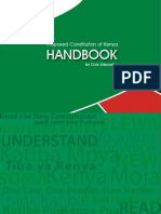 Kenyas Proposed Draft Constituiton 2010
