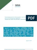Red.es - TIC en la microempresa española