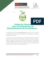 Codigo de Colores -NTP 900 058 2005 - PCM