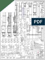 Litl 020 Cve 111 b 87628 Sh.1_r1 Reinf. Detail of Parshall Flume(1)
