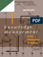 Eduard Waltz_Knowledge Management in the Intelligence Enterprise