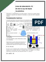 Informe de Laboratorio #1 Fsicoqimica