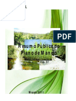 RESUMO PUBLICO PLANO MANEJO ARAUPEL 2011