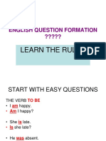 question formation- learn the rules powerpoint