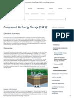 Compressed Air Energy Storage (CAES) _ Energy Storage Association1