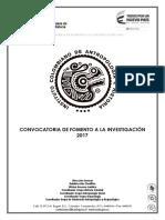 Convocatoria Estímulos - 2017 para publicación ICANH