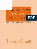 Barbarians Inside the Gates and Other Co - Thomas Sowell
