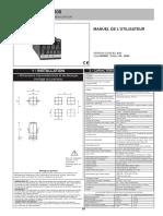 régulateur thermorégulateur(Man_600_fra).pdf