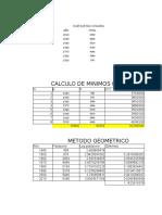 Calculo de Población Futura