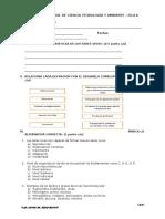 Examen Mensual de Formación Civica