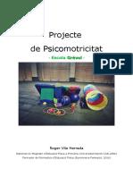 Projecte Psicomotricitat Escola Grevol