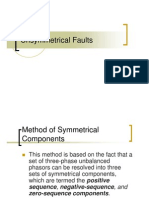 Unsymmetrical Faults