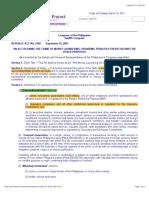 R.A. 9160 AMLA law