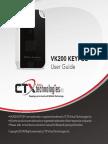 Virtual-laser-keyboard-VK200 KEYFOB User Manual 07172013