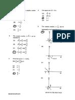 Cape Pure Mathematics unit 2 (2015) P1 Answers