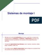 Sistemas de Montaje. Introduccion y Tipos