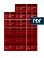 Accounts - Tickets - Red Narrow