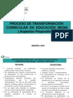 Presentacion Proceso de Transformacion Agosto2016