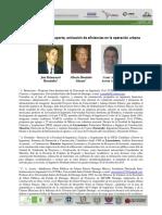 20 - Re-Ingeniería Del Transporte Activación de Eficiencias en La Operación Urbana