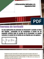 Ecuaciones Diferenciales Aplicadas a La Ingeniería Civil