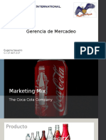 Eugenia Navarro - Marketing Mix - Coca Cola