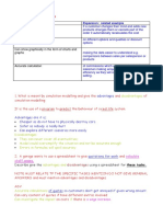 Revising Section Spreadsheet