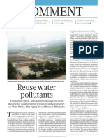 Reuse Water Pollutants_2015_Nature