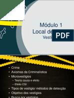 Aula de Local de Crime 1 - Microvestígios