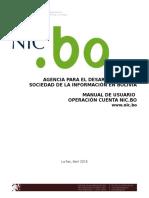 Manual de registro de dominio en Bolivia