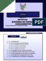 Diapositiva 02 - Sistemas de Fuerzas Concurrentes