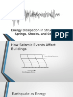 Energy Dissipation in Structures
