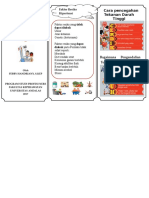 Leaflet Hipertensi Faktor Resiko, Pengendalian Dan Pencegahan
