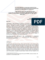 Desenvolvimento Sustentável - Consumo e Cdc