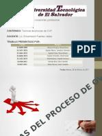 Tecnicas Del Proceso OVOP