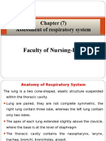 Health Assessment Chapter 7 Assessment of Respiratory System