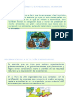 Ecología en El Ámbito Empresarial Peruano