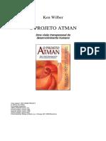 O Projeto Atman - Projeto Alma - Ken Wilber