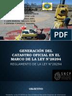Generaciondel Catastro