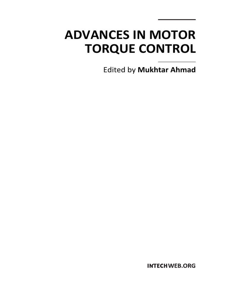 Advances In Motor Torque Controlpdf Steering Gear Automations Gt Control Circuits Pwm Speed