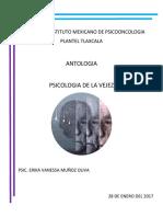 Antologia Psicologia de La Vejez