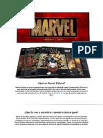 Qué Es Marvel Deluxe