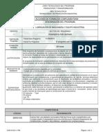 Informe Programa de Formación Complementaria Lubricacion