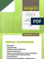 Presentación Evidencia 1 Características de Los Incoterms 2010