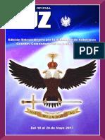 Revista Luz 2017 - Supremo Consejo Grado 33º del Perú