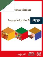 Ficha Tecnica de Procesado de Frutas