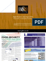 Food security - A proposal for South Africa