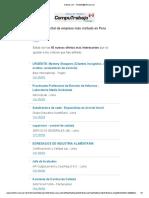 Ofertas de Empleo Al 20 de Abril de 2015