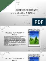 Modelo de Crecimiento de Guellec y Ralle